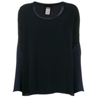 Kristensen Du Nord Two-Tone Knitted Top - Azul
