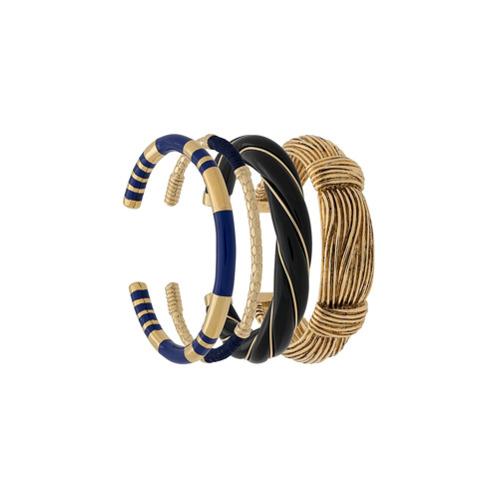 Imagem de Aurelie Bidermann Conjunto de pulseiras banhadas a ouro 18kt - Metálico