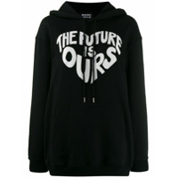 Markus Lupfer Moletom The Future Is Ours - Preto