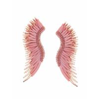 Mignonne Gavigan Par De Brincos 'long Wings' - Rosa