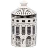Fornasetti Otto Architettura Scented Candle - Branco
