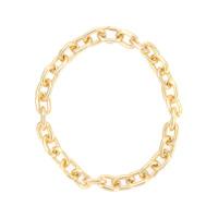Jack Vartanian Colar 'chain Elo P' Prata Com Banho De Ouro 18K - Metálico
