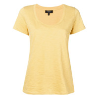 Theory Scoopneck T-Shirt - Amarelo
