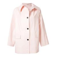 Kassl Trench Coat Curto - Rosa