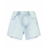 Agolde Short Jeans Slim Micah - Azul