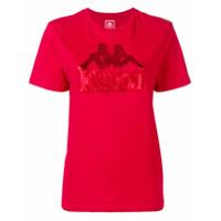 Kappa Camiseta Com Logo - Vermelho