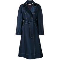 Temperley London Casaco 'matilde' - Azul