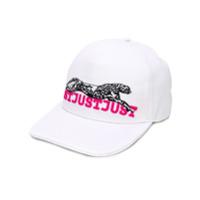 Just Cavalli Boné Com Logo Bordado - Branco