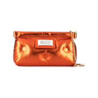 Maison Margiela Bolsa 'red Carpet Glam Slam' Metalizada - Laranja