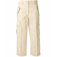 Marc Jacobs Cropped Army Trousers - Neutro