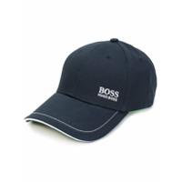 Boss Hugo Boss Boné Com Contraste - Azul