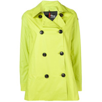 Rrd Trench Coat Curto - Verde