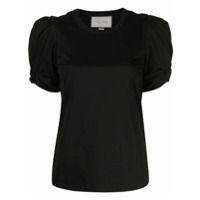 Alexis Camiseta Com Franzido - Preto