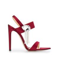 Chloe Gosselin Sapato Com Aplicação - Vermelho