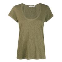 Rag & Bone Camiseta Decote Em U - Verde