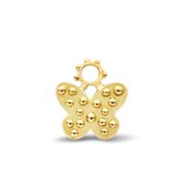 Gaya Pingente The Little Butterfly De Ouro 18K - Dourado
