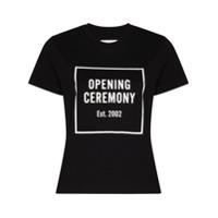 Opening Ceremony Camiseta Com Estampa De Logo - Preto