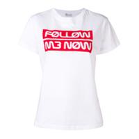Red Valentino Camiseta Com Logo - Branco
