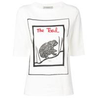 Holland & Holland Camiseta Com Estampa The Toad - Branco