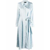 Stine Goya Baily Daisy Print Dress - Azul