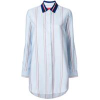 Hilfiger Collection Camisa Boyfriend - Azul