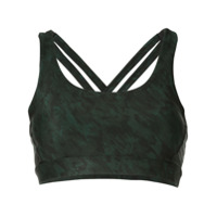 Nimble Activewear Top Esportivo - Verde