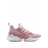 Puma Muse Maia Metallic Sneakers - Rosa