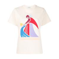 Lanvin Camiseta Com Estampa Mother And Child - Neutro