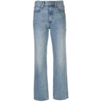 Slvrlake Calça Jeans Reta London - Azul