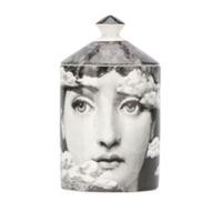 Fornasetti Vela Com Estampa De Face - Preto