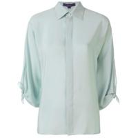 Ralph Lauren Camisa De Seda - Green
