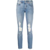 Givenchy Calça Jeans Skinny Com Efeito Destroyed - Azul