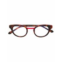 Face À Face Armação De Óculos Tartaruga - Preto