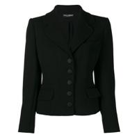 Dolce & Gabbana Casaco Com Abotoamento - Preto