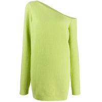 Gauge81 Suéter Isa Assimétrico De Cashmere - Verde