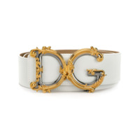 Dolce & Gabbana Cinto Dg Barroco - Branco