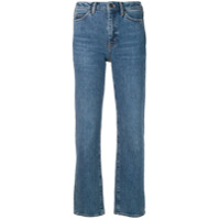 Mih Jeans Daily Crop Jeans - Azul