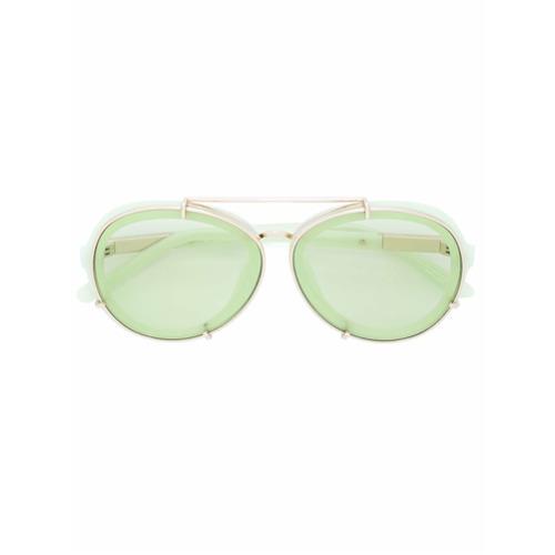 Imagem de 3.1 Phillip Lim Óculos de sol redondo - Green