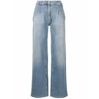 Magda Butrym Calça Jeans Pantalona - Azul