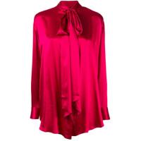Michael Lo Sordo Camisa Com Laço - Vermelho