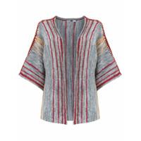 Pop Up Store Kimono De Tricô - Cinza