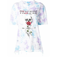 Alchemist Tie Dye Print T-Shirt - Branco