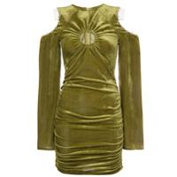 Neith Nyer Vestido Com Franzido - Green