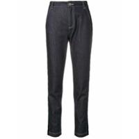 Fendi Calça Jeans Cenoura - Azul