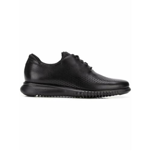 Imagem de Cole Haan laser wingtip Oxford shoes - Preto