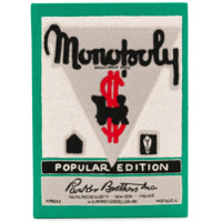Olympia Le-Tan Clutch 'monopoly Popular Edition' - Verde