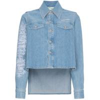 Off-White Jaqueta Jeans - Azul