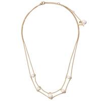 Yoko London Colar Trend De Ouro 18K Com Diamante - Dourado