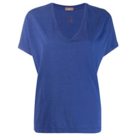 Altea Camiseta Decote Em V - Azul