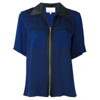3.1 Phillip Lim Camisa Mangas Curtas - Azul